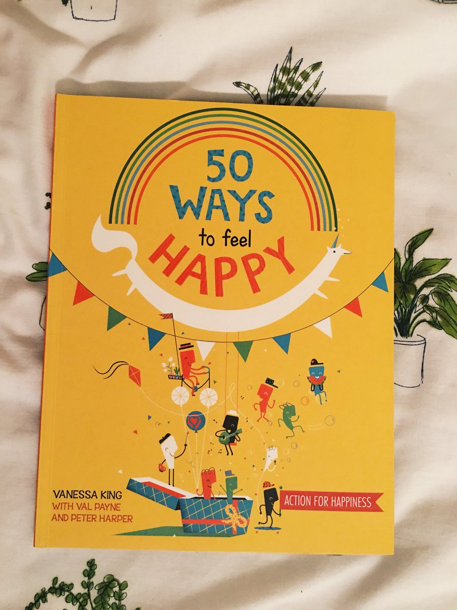 Couldn't think of a better day for this to arrive. 😌 @actionhappiness