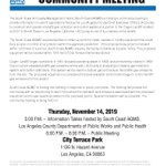 Image for the Tweet beginning: Attention #EastLA residents, join @SouthCoastAQMD