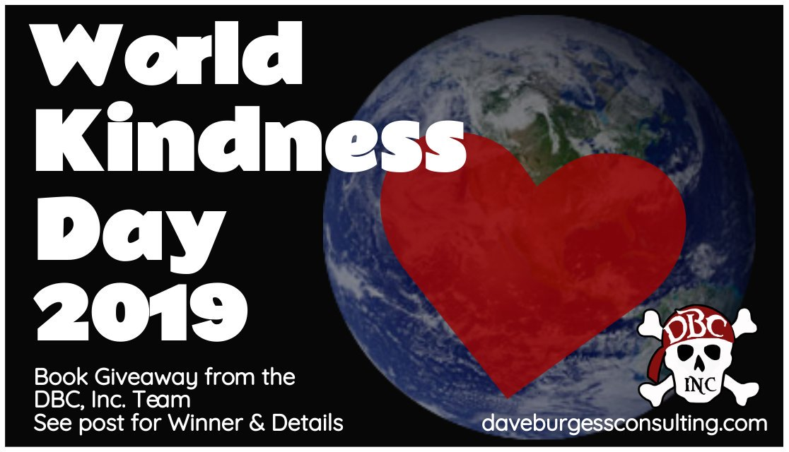 Happy #WorldKindnessDay 2019! We'd like to give away some books today! This giveaway goes to @kevin_mcguire ! Congrats!🎉  Please choose a book & DM this account your mailing info. ➡️   #dbcincbooks #tlap @burgessdave @burgess_shelley @TaraMartinEDU