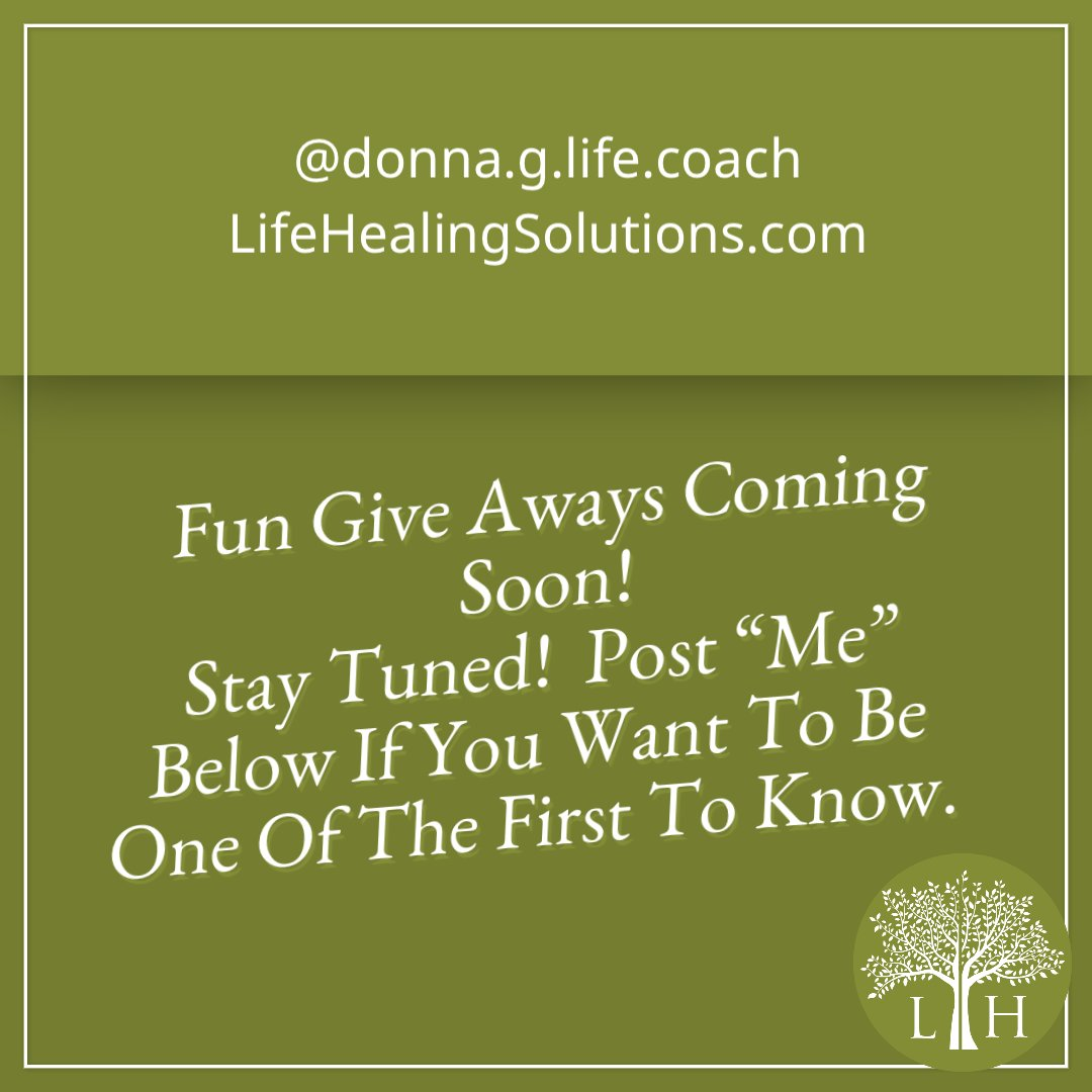 This is going to be amazing and I cannot wait to start sharing all the cool things that you guys are going to benefit from! #Donna'sDaily #LifeHealingSolutions #Prizes #Giveaways #Fun #Excited #LoveIt#grow #Transformation #ComingSoon #StayTuned #Me#Support #Love