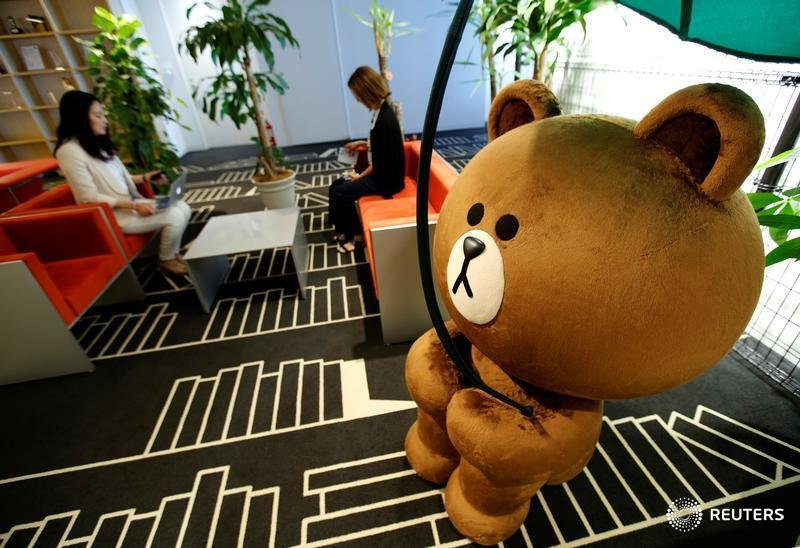 SoftBank has plenty to gain from a merger between the parent company of Yahoo Japan and the country's leading messaging app, Line, write @LiamWardProud and @KarenKKwok. https://bit.ly/2XaQ75G
