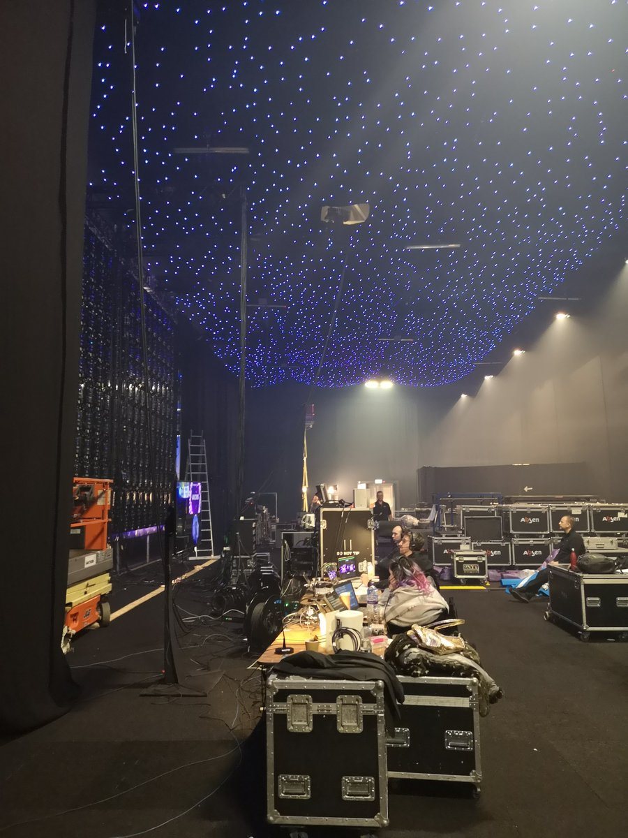 Backstage at #UKITAwards. Where all the magic happens #BigNight #ITExcellence