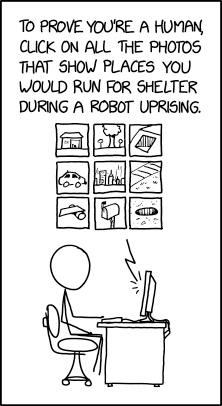 Machine Learning Captcha xkcd.com/2228/ m.xkcd.com/2228/