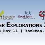 Image for the Tweet beginning: Career Explorations is tomorrow! Join