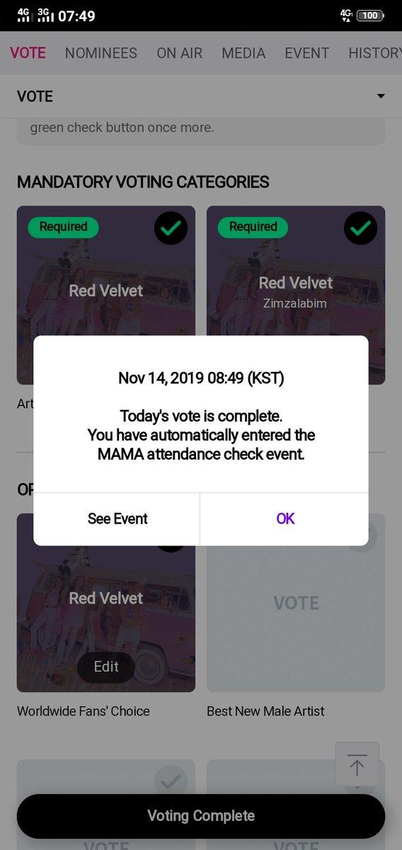 VOTE VOTE VOTE !  #MAMAVOTE #redvelvet @RVsmtown <br>http://pic.twitter.com/R3DNFjcGwj