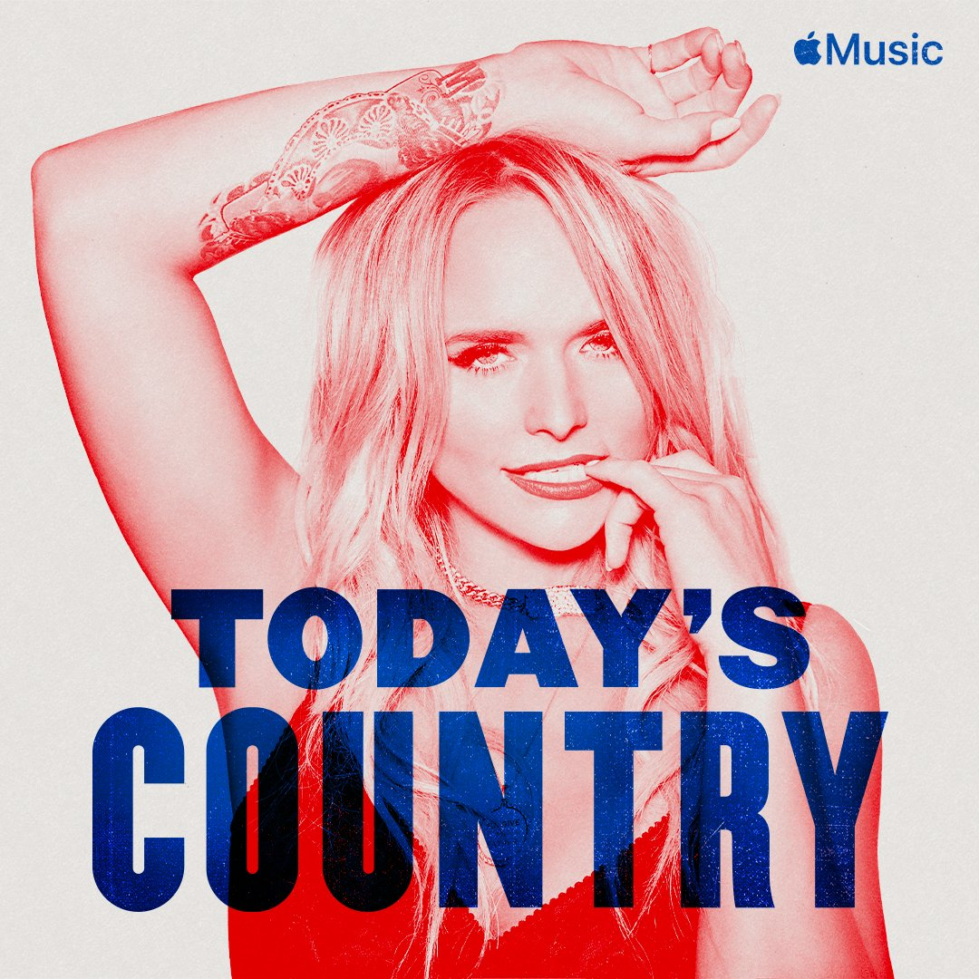 Check out @AppleMusic's #TodaysCountry playlist. From fan favorites you know and love, to breakout stars and emerging voices, this is your destination for the best of country music. Listen now: http://apple.co/todayscountry