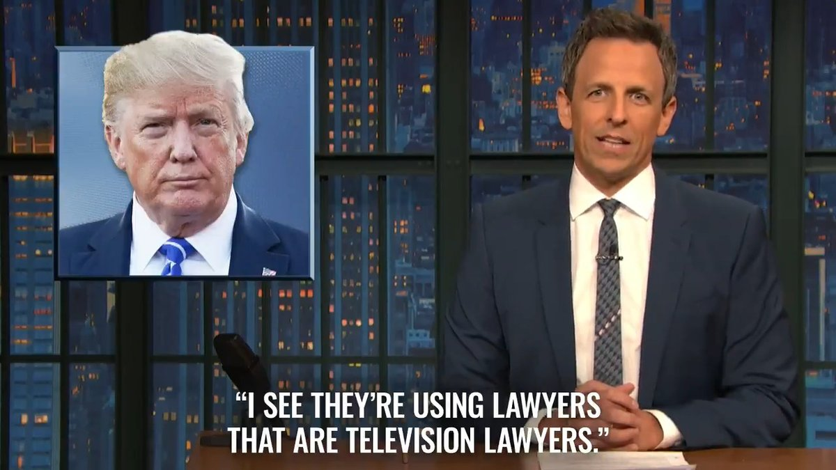 Image for the Tweet beginning: From tonight's #LNSM: Today's impeachment