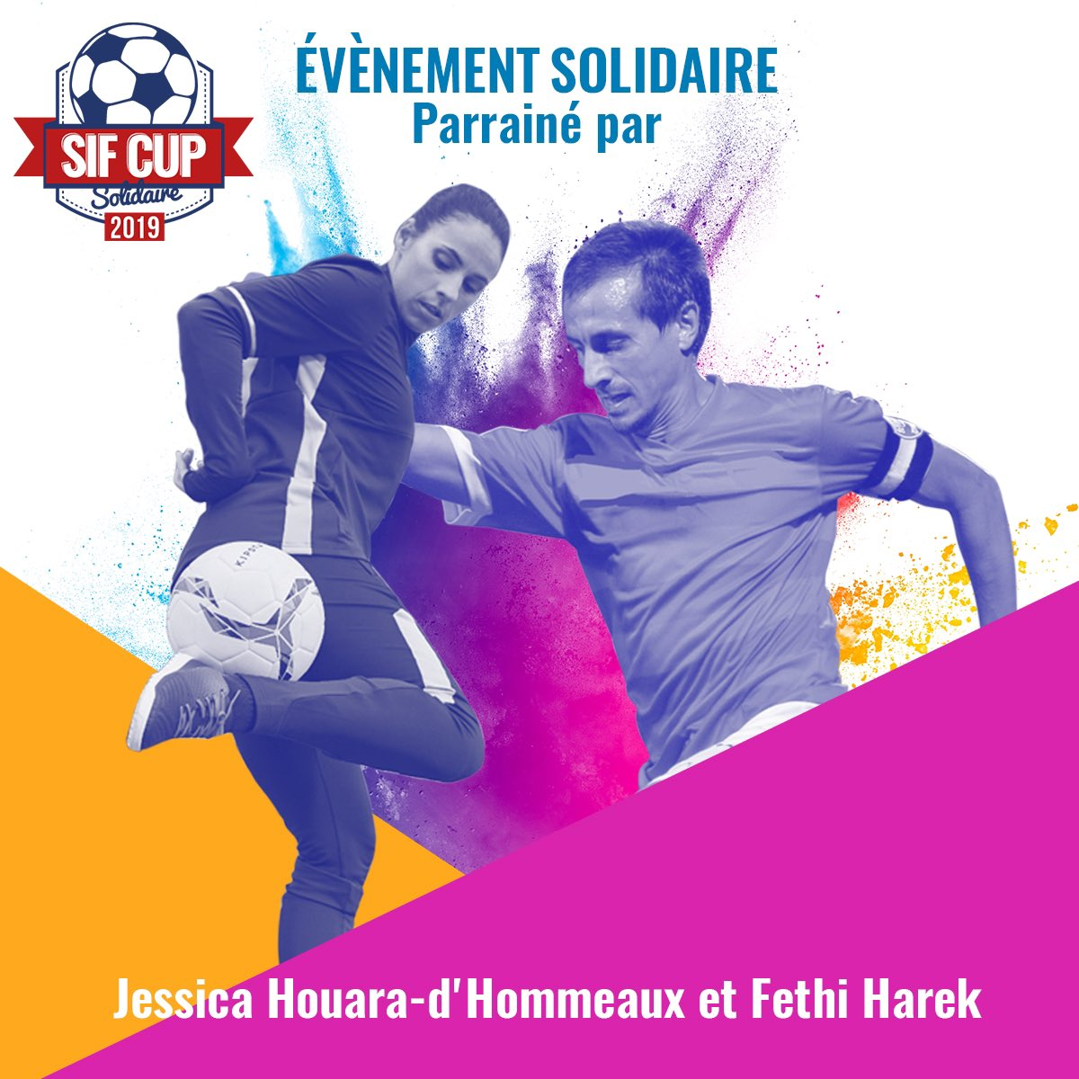 parrain avec J. Houara de la #SIFCUP,tournoi de foot five solidaire ouvert à tous qui aura lieu dans 3 villes : Marseille le 16 novembre, Lyon le 23 novembre et Paris le 30 novembre. Un seul but : scolariser 3000 enfants! Soit actif et vient t'inscrire : https://t.co/Am4l3aezEH ) https://t.co/fVW7zpVSBQ