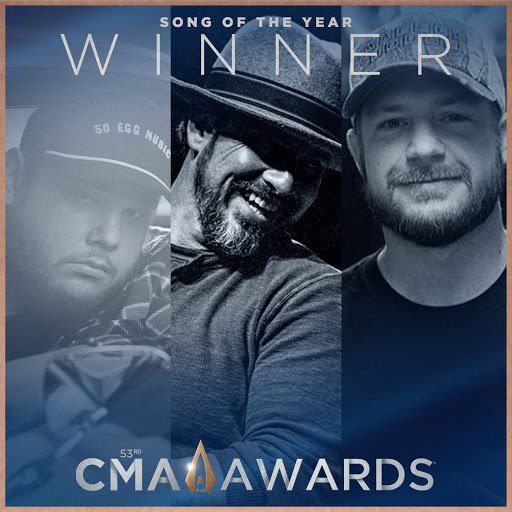 """The #CMAawards  Song of the Year winner is... """"Beautiful Crazy"""" written by @LukeCombs, Wyatt B. Durrette III, and Robert Williford! Congratulations!  <br>http://pic.twitter.com/oVAs263Mp6"""