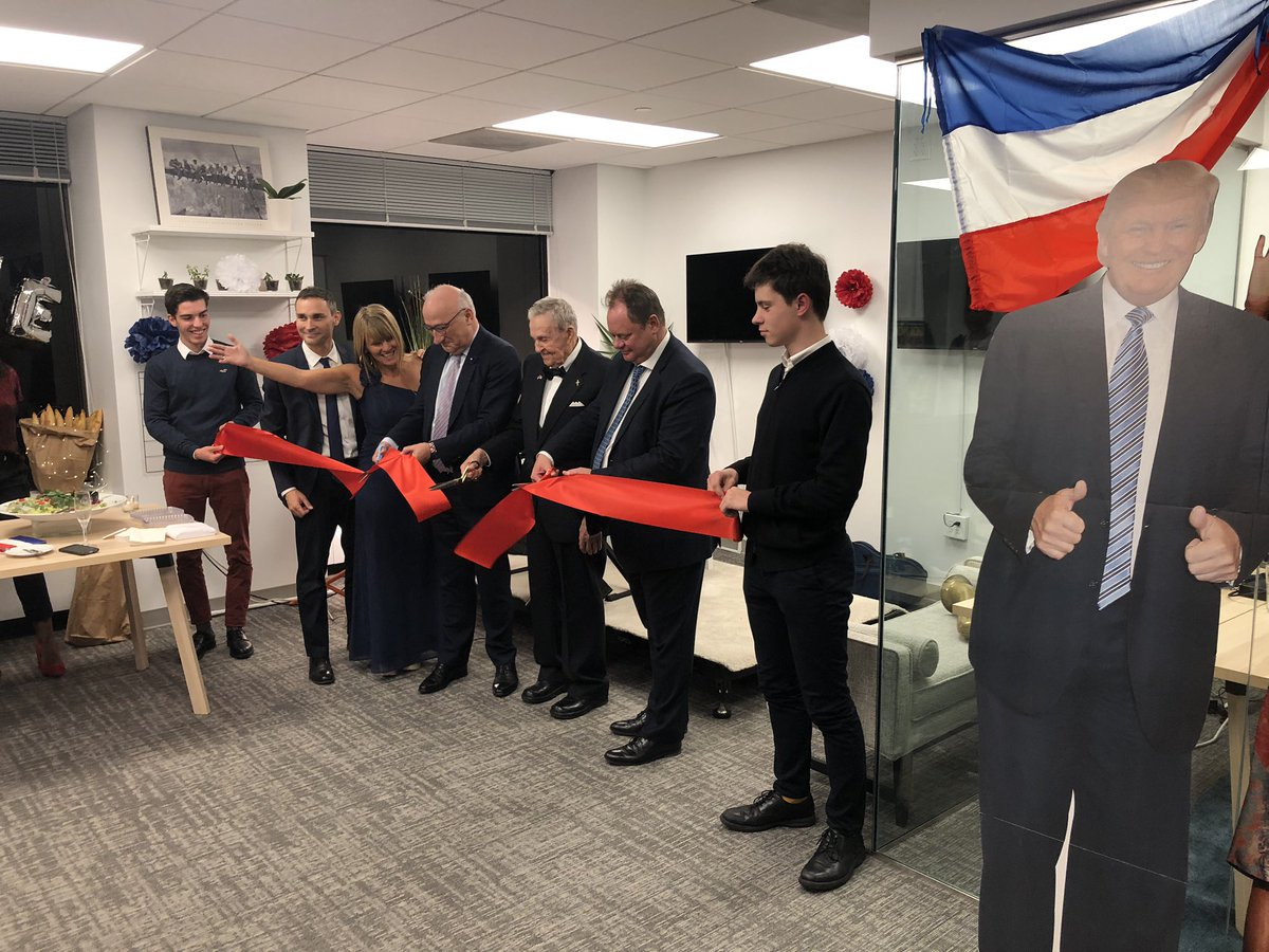 We are proud to be with the France2 team as they officially open their bureau here at Celebro D.C. <br>http://pic.twitter.com/ILzpxnlhQL
