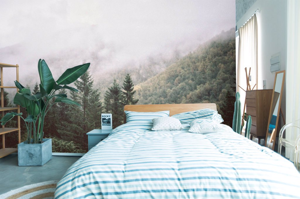 Aj Wallpaper On Twitter Bedroom Wall Mural Ideas Which Are Fantastic And Beautiful Wallpaperdesign Wallpaperonline Wallpaperideas Wallmurals Wallart Wallartdecor Wallartprint Wallartist Walldecor Walldecoration Walldeco Walldecorations