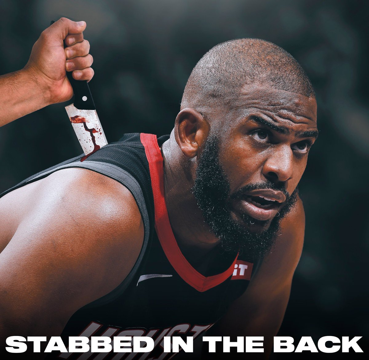 Chris Paul says the Houston Rockets stabbed him in the back when they traded him over the summer. pic.twitter.com/6JuEGKkjUS