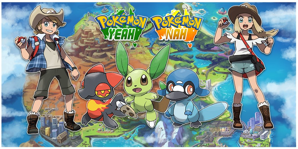 G'DAY. With the hype of #PokemonSwordShield right around the corner, care to have a look at an Aussie Pokemon game, Pokemon Yeah and Pokemon Nah? Set in the region of Straya, players will experience the unique land of down unda.   This thread will have art for Yeah and Nah! 🇦🇺🦘 https://t.co/olDqXQUD5a