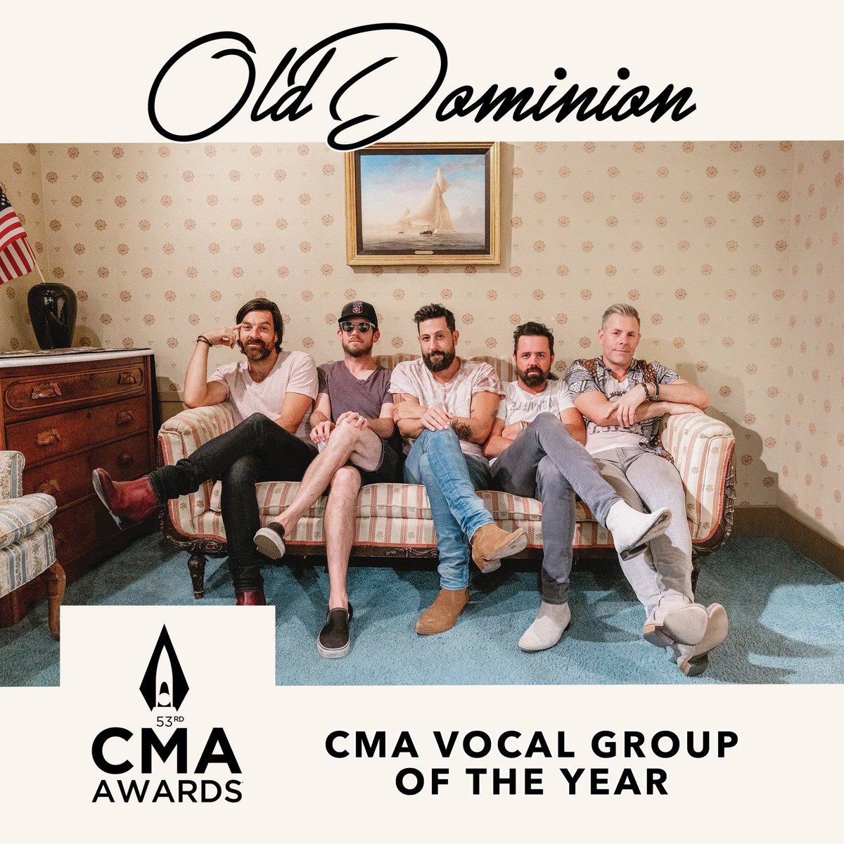 Honored and grateful 🙏🏻 #cmaawards #vocalgroupoftheyear @CountryMusic