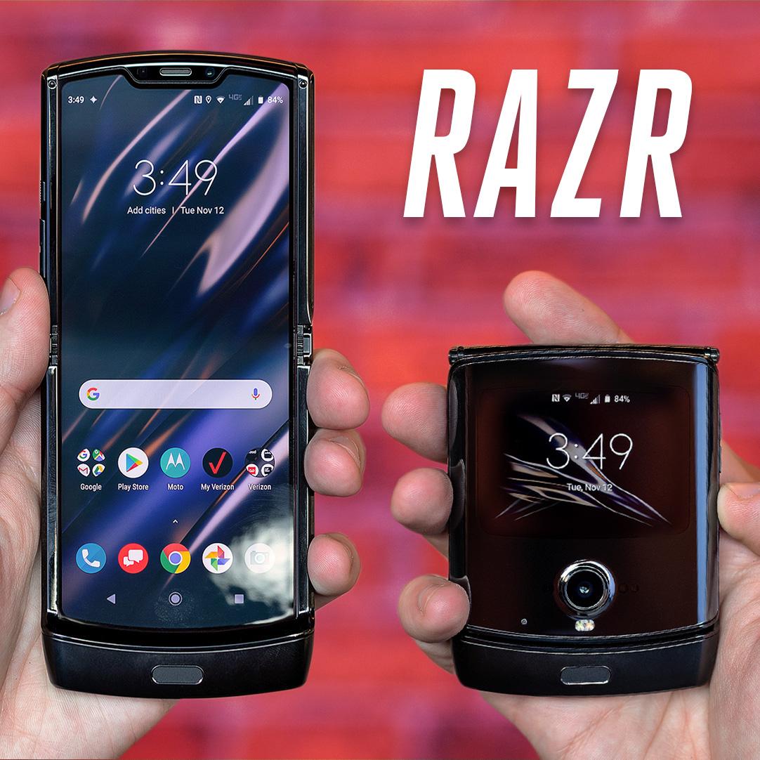Motorola made the foldable Razr weve wanted