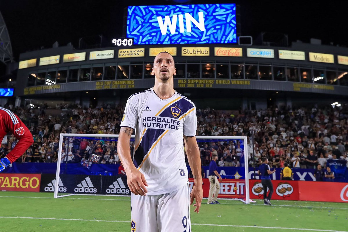 @MLS @Ibra_official @LAGalaxy The King!!