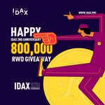 Image for the Tweet beginning: RWD celebrate IDAX 2nd anniversary
