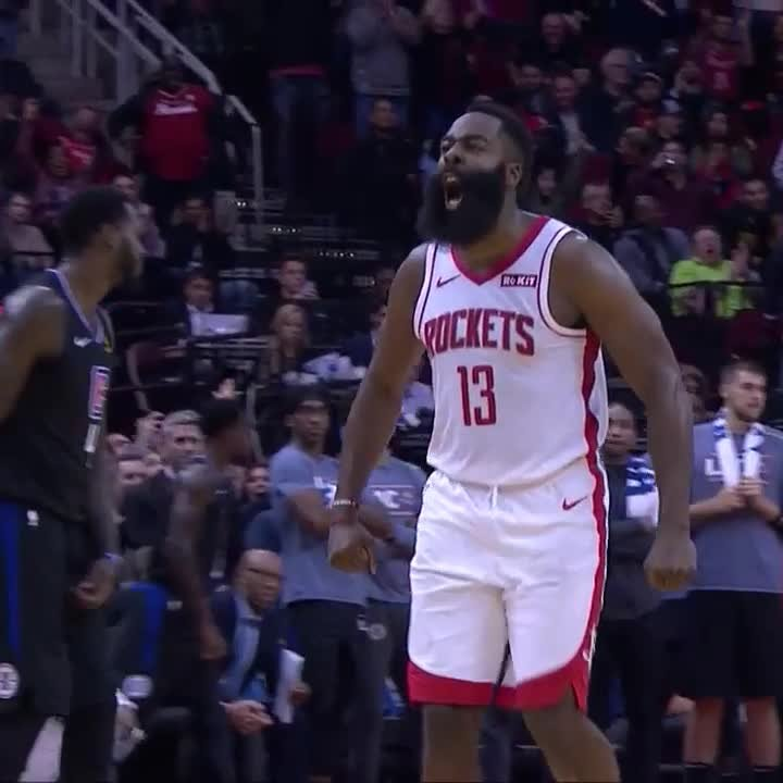 Rockets win fifth straight as James Harden bests Kawhi Leonard late