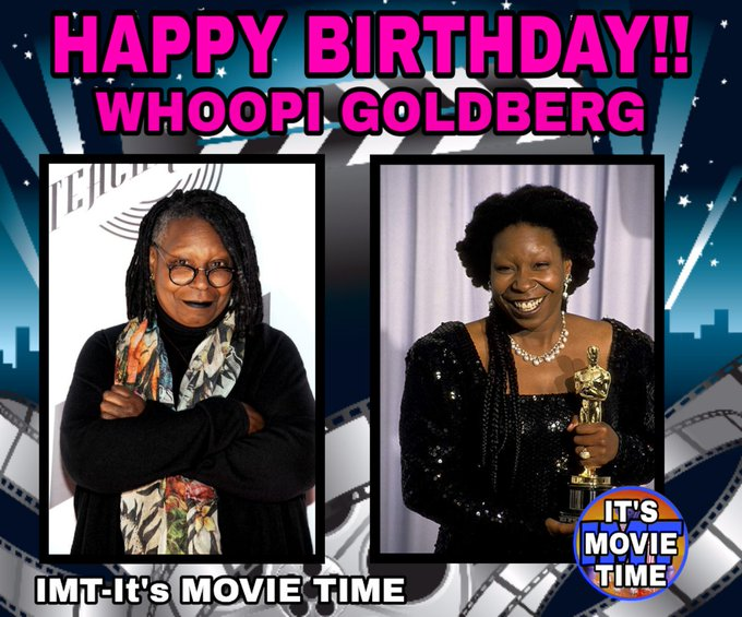 Happy Birthday to Whoopi Goldberg! The actress is celebrating 64 years.