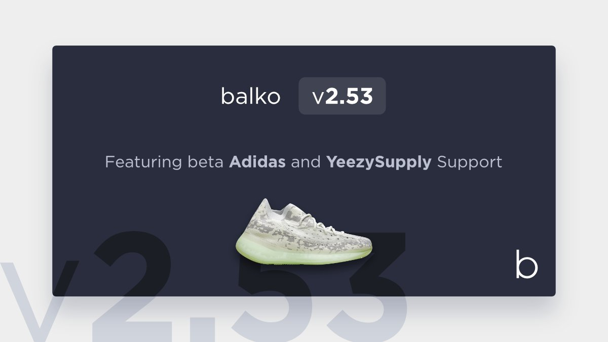 Adidas and Yeezy Supply autocheckout