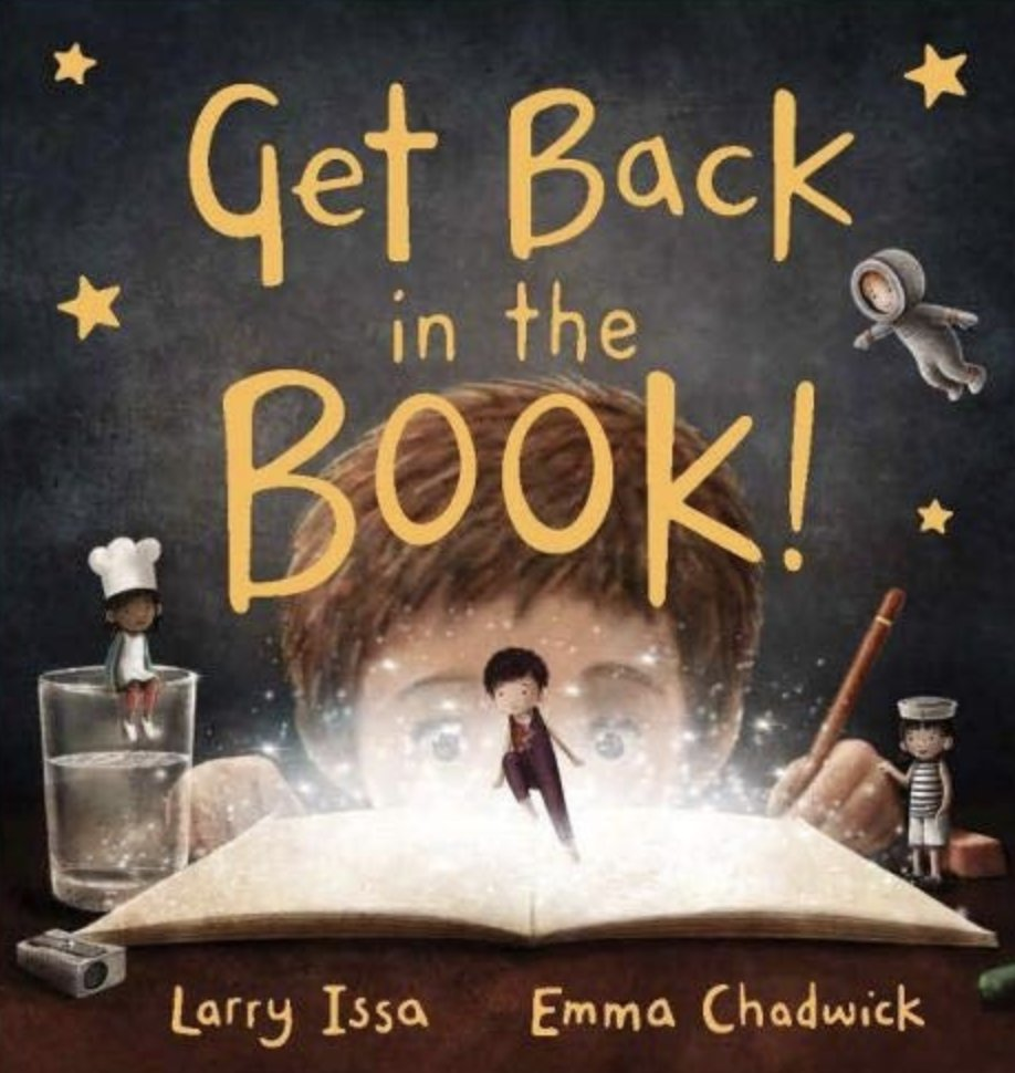 Our very own talented @em_chadwick is celebrating after the book she illustrated written by #larryissa won the picture book 4-8 category of the #moonbeamawards