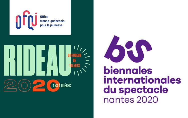 Appel à candidatures | Jeunes professionnel.le.s des arts de la #scène et de l'industrie du #spectacle, faites un doublé et participez à la 9e @BIS_Nantes en janvier 2020 ET à la Bourse @RIDEAU_1 à Québec en février. 📅 Date limite : 30/11/2019 👉 bit.ly/2XnoRRT