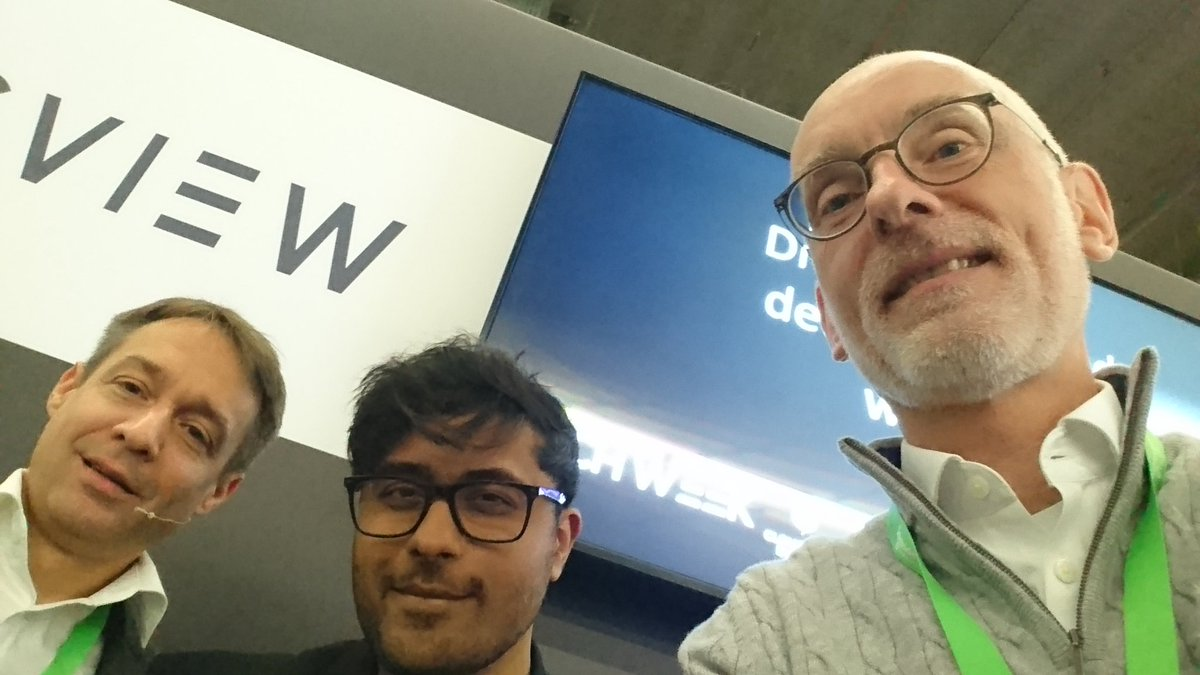 "test Twitter Media - Panel Talk ""Driving improved decision-making with BI"" together with Kevin Jolly from wunderflats and Patrick Keller from BARC at Big Data World in Frankfurt - thx to my Collagen, it was a pleasure to discuss #BigData #BDWF19 https://t.co/1eYQjws76u"