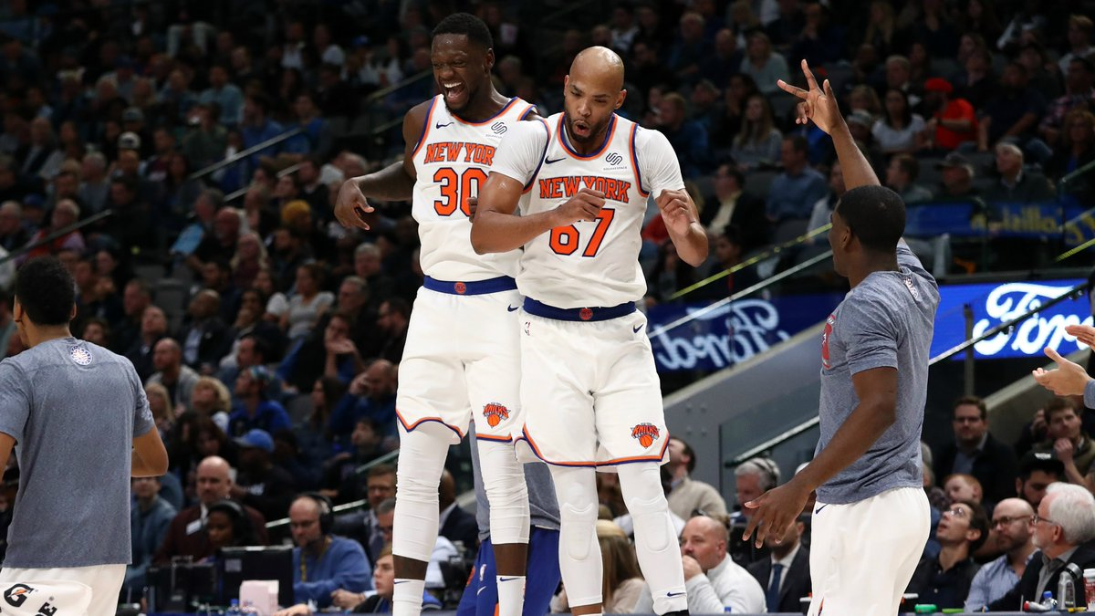 The @nyknicks defeated the @dallasmavs last week. Who will win tonight?  Lock in your pick and play NBA Pick 'Em: Weekly 6 for FREE!  ➡️ http://on.nba.com/2CfGxEW