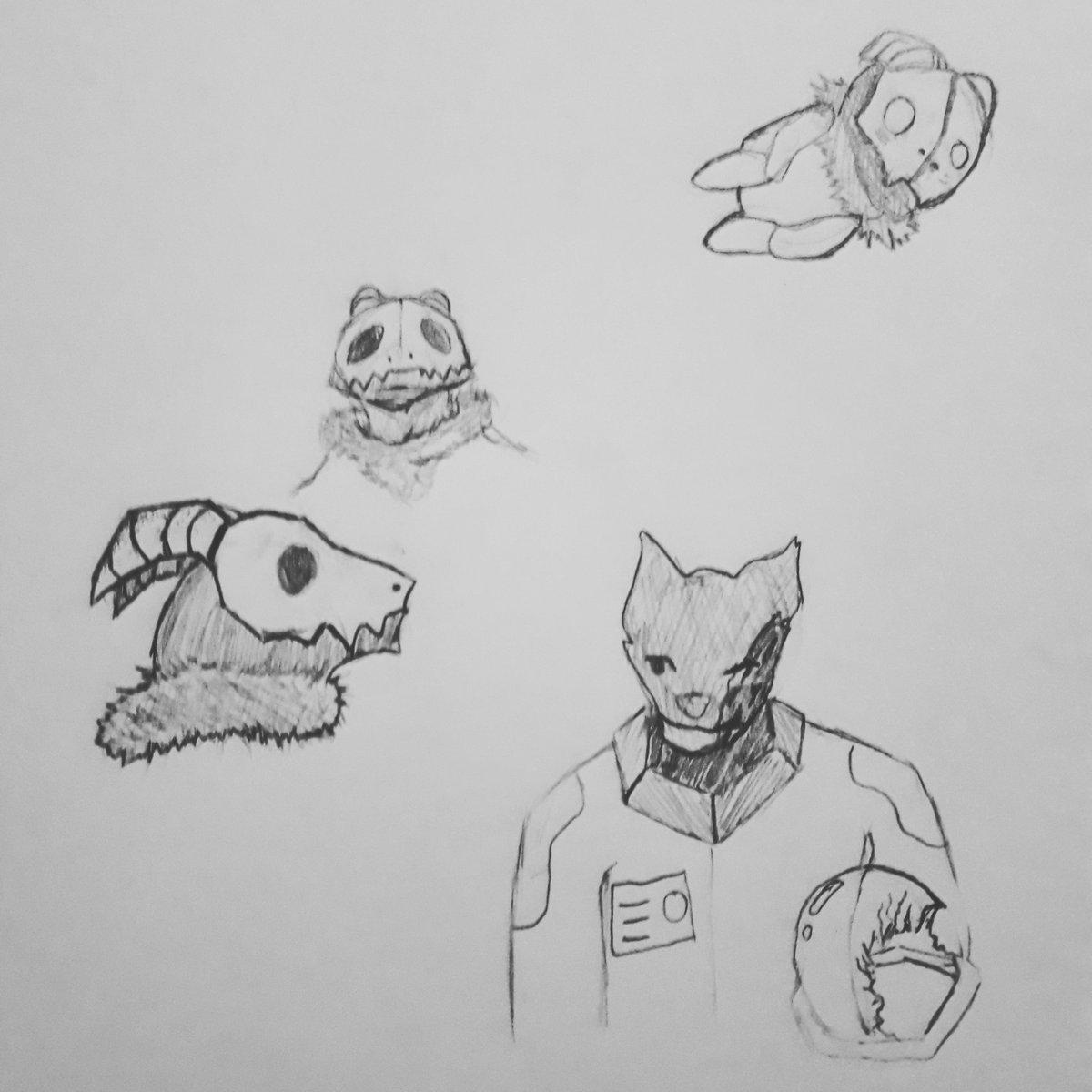 #NightlyDrawing 94 Random Doodles pic.twitter.com/flh9y8gCcG