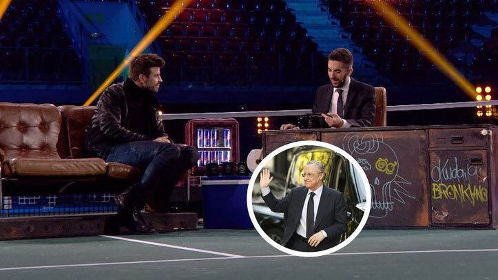 """Gerard Piqué: """"I have the phone number of Florentino Pérez [Real Madrid president]. It was for a personal issue, nothing related to football."""" [movistar] <br>http://pic.twitter.com/T3hR7rXrcV"""