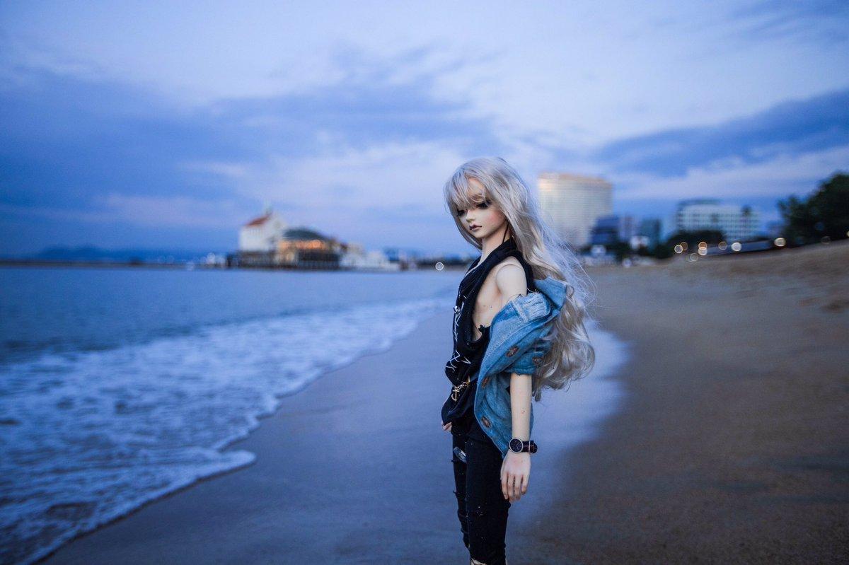 海。#bjdphotography #dollphotography #dollart #fromswitch #bjd #switchvian#ドールオーナーさんと繋がりたい