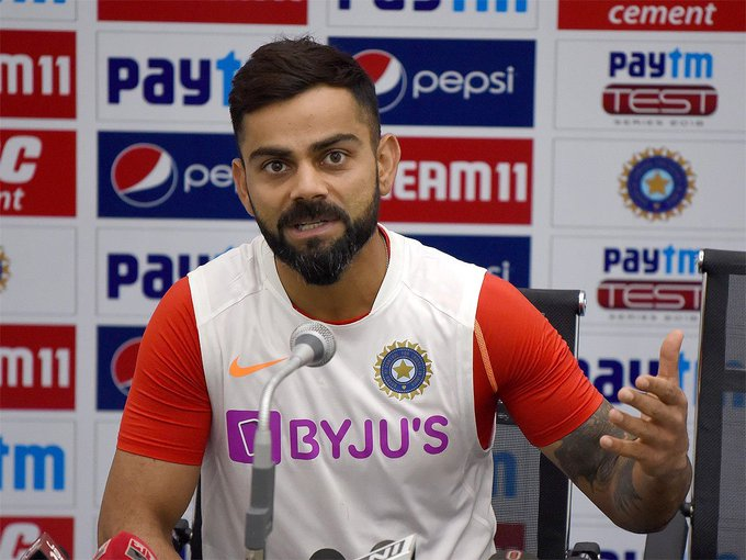 #INDvBAN #INDvsBAN In England, I felt like it was the end of the world: @imVkohli 🏏#ViratKohli said he himself did not have the courage to admit to mental meltdown in 2014Details 👉http://toi.in/Y0AUka57/a24gk