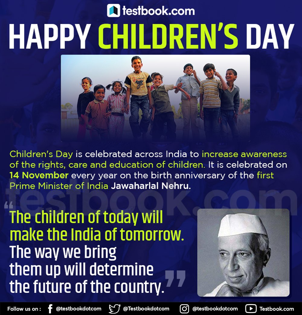 Comment down one of your best childhood memory . #HappyChildrensDay  #JawaharlalNehru #ChildrensDay #ChachaNehru #Nehru #leader #PrimeMinister #birthanniversary #HappyChildrensDay #ChildrensDay2019 #बाल_दिवस #ThursdayThoughts #ThursdayMotivation #FridayFeeling #FridayThoughts