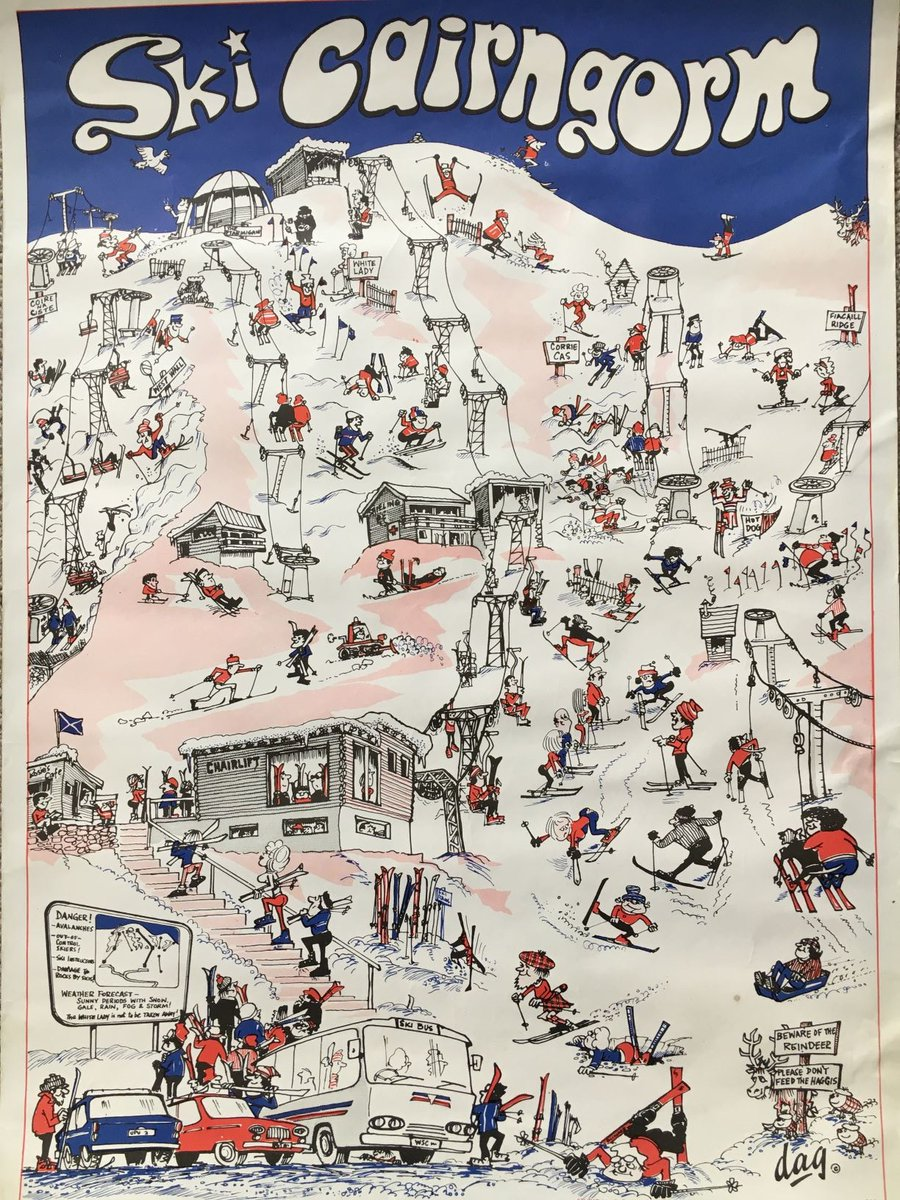 #Throwback Thursday – Many thanks to Penny for passing on this image of a poster which was designed by her Dad Doug Godlington & sold locally in the 1970's. Doug was a self-taught cartoonist and also one of the first Basi instructors/trainers.