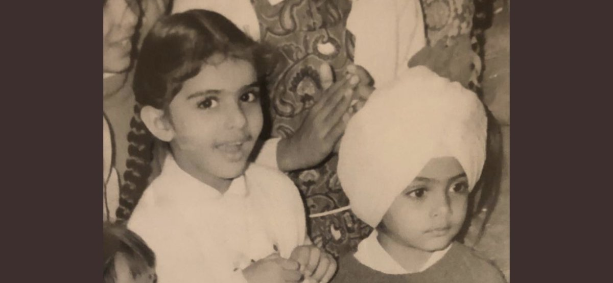 The earth reveals its innocence through the smiles of children. Sharing this memorable picture of my children, Jai Inder Kaur & Raninder Singh.Greetings to the children of the world on this special day. Wish you all the best of the best in all that you do.#ChildrensDay2019