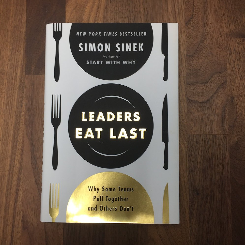 """""""Leadership is not a license to do less; it is a responsibility to do more."""" - a #InspirationalWords to follow each day after a great read from @simonsinek in #leaderseatlast"""