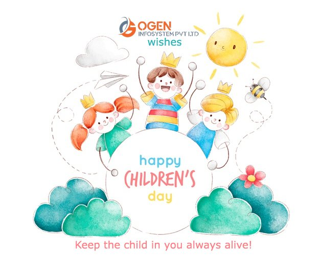 Keep the child in you live always! To the child within you, Happy Children's Day. #ChildrensDay #14thNovember #HappyChildrensDay #HappyChildrensDayToAll https://t.co/SRNumOL9rE