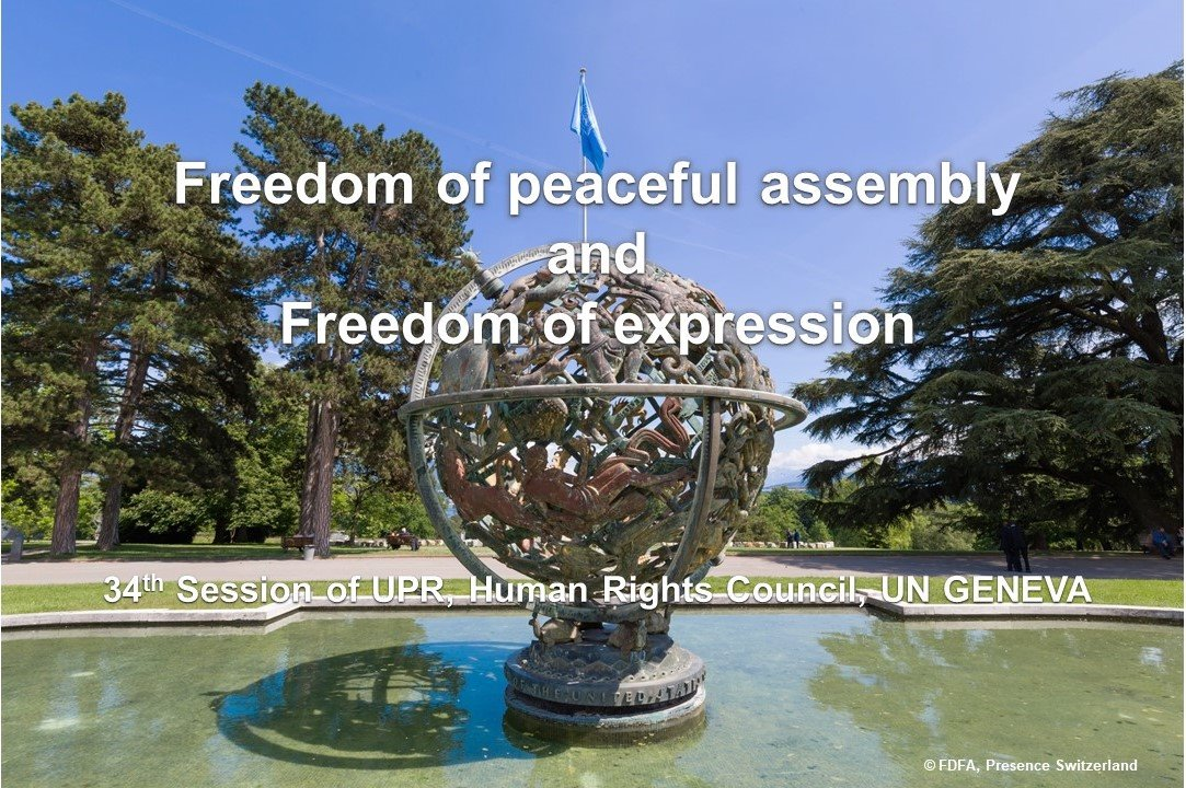 recommends  to: eliminate all restrictions on freedom of peaceful assembly  respect #freedomofexpression  adopt electoral system ensuring every citizen to exercise its rights  establish a national preventive mechanism against torture #UPR34  https:// bit.ly/2pgyvJ9    <br>http://pic.twitter.com/FDktmNMKzY