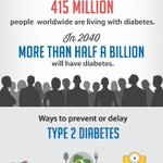 Image for the Tweet beginning: Today is World Diabetes Day... Type