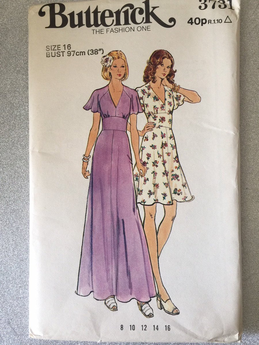 Excited to share this item from my #etsy shop: EXTREMELY RARE Vintage Uncut Circa 1970s Butterick Pattern No 3731 For Misses' Dress Size 16 Collectable Pattern - Dress in Two Lengths  https:// etsy.me/2Xnd5Hb     #ExtremelyRare#Butterick#Vintage#Collectable#SewingPattern#1970s#Size16 <br>http://pic.twitter.com/ZSB4hY154x