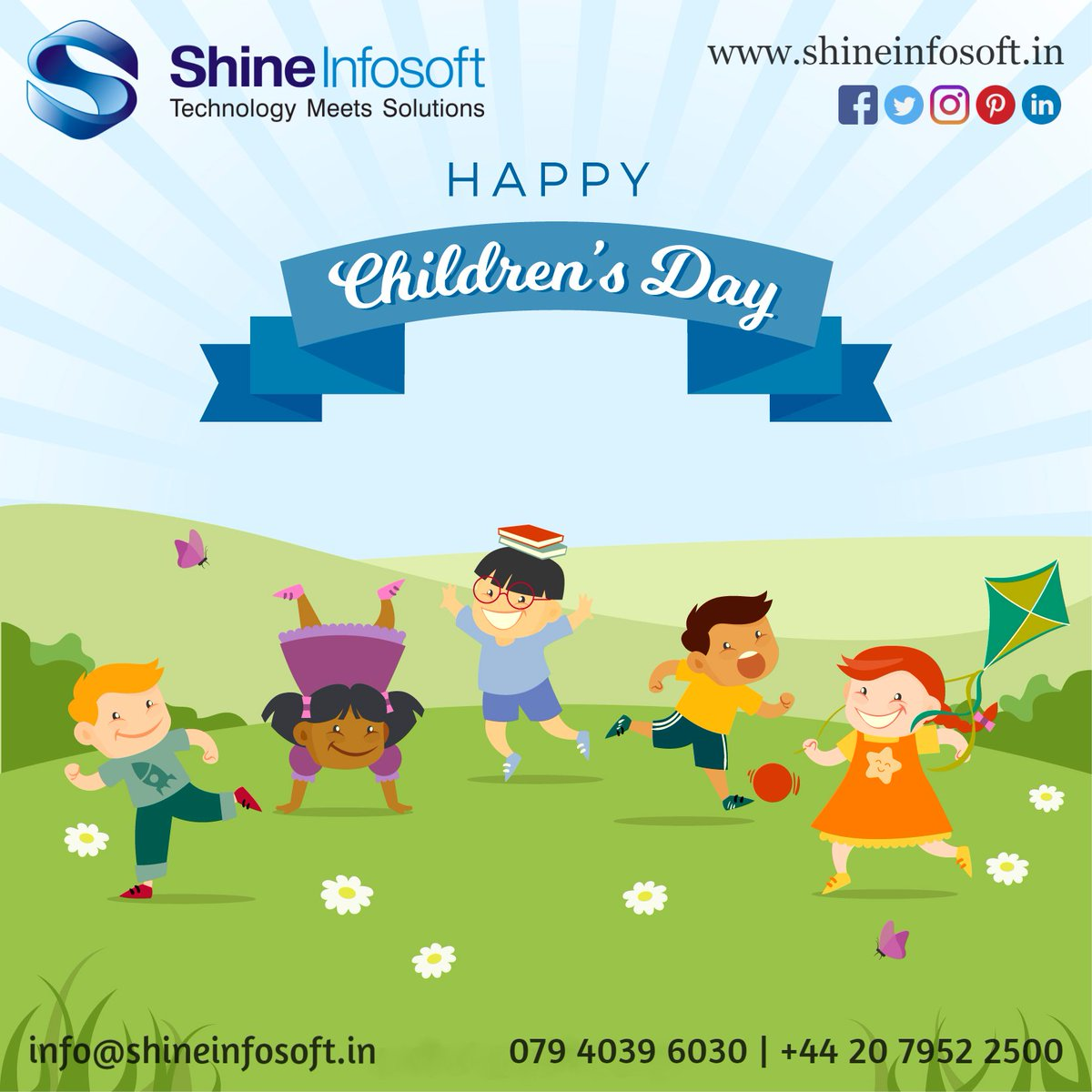 There are only two lasting gift we should give our children, One is roots and second is wings. HappyChildren'sDay.  #Shineinfosoft #HappyChildrenDay #Mobileappdevelopment #Xamarinappdevelopment #webdevelopment #TechnologyUpdates<br>http://pic.twitter.com/Bt7m17Eif0