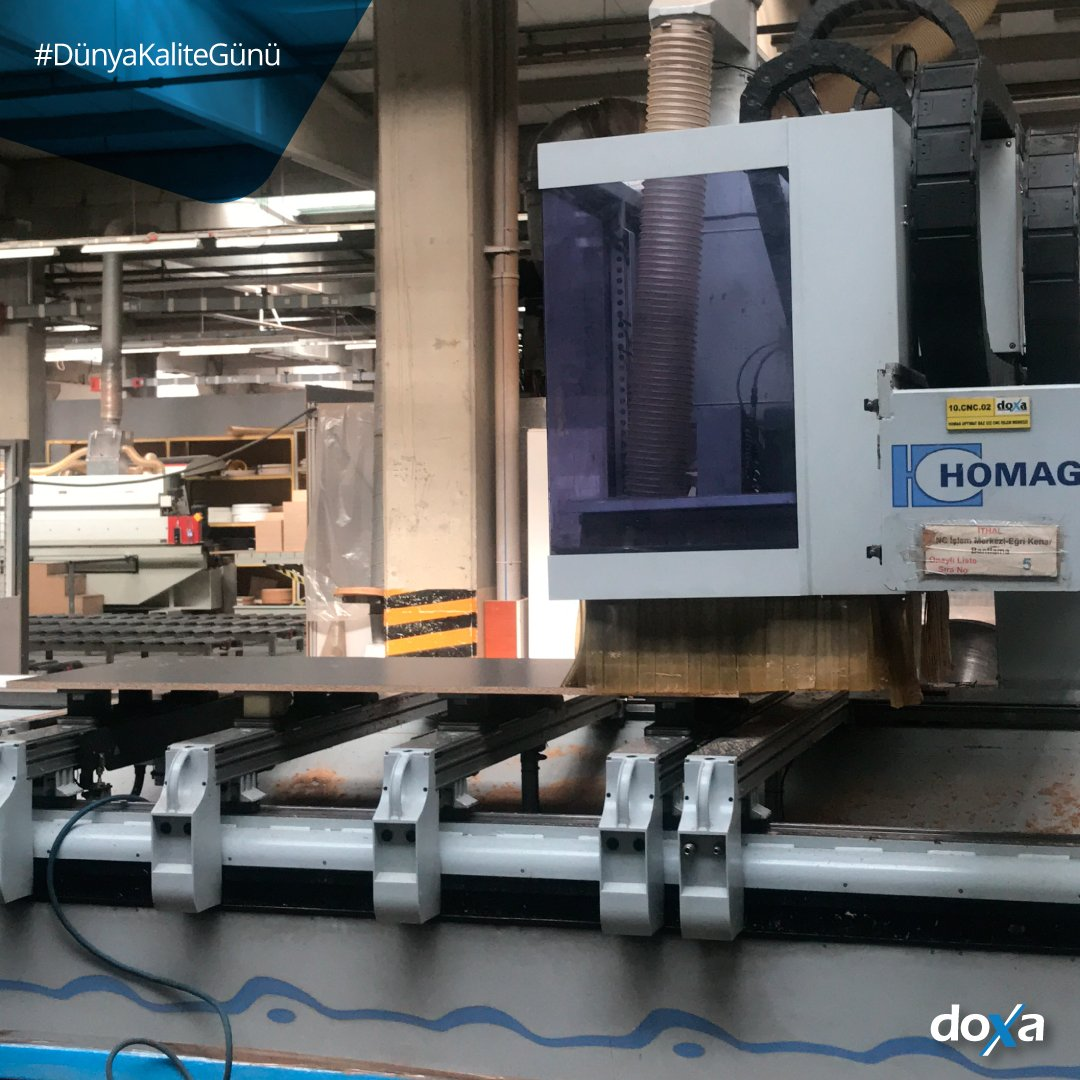 Tasarımlar, beklentiler, teknoloji ve iş hayatı değişse de; özverili ve uzman çalışanlarımızla, son teknolojiye sahip üretim ekipmanlarımızla her zaman en iyisi için çalışmaya devam edeceğiz... #Doxa #OfisMobilyası #Ofis #İşHayatı #İlhamVerenFikirler #DünyaKaliteGünü