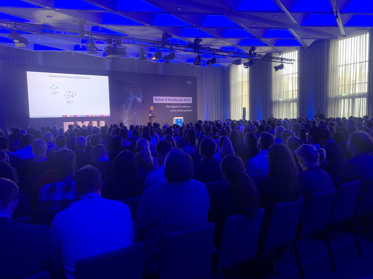 Excited to kick off Future X Healthcare 2019 #FXH2019   #transforminghealthcaretogether   @Roche https://t.co/oZXbTQQE3U