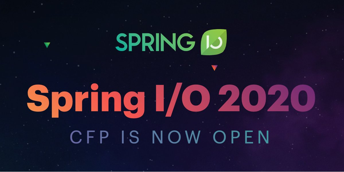 Spring Forward 2020.Spring I O On Twitter Our Cfp For Spring I O 2020 Is Now