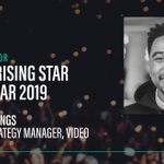 1 week to go until #TheWires 🏆! Don't forget to VOTE for @Captify's video rockstar, Jordy, for @exchangewire's 'Ad Tech Rising Star' award. Click here 👉 https://t.co/9VqJibtxjK #Awards #Adtech