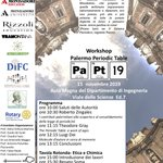 "Image for the Tweet beginning: #Unipa ospita ""Palermo Periodic Table"""