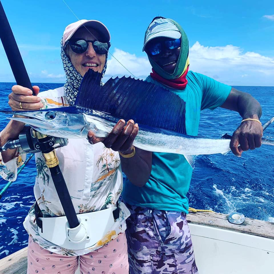 Kiwayu, Kenya - Elusive released a Sailfish and a Spearfish.