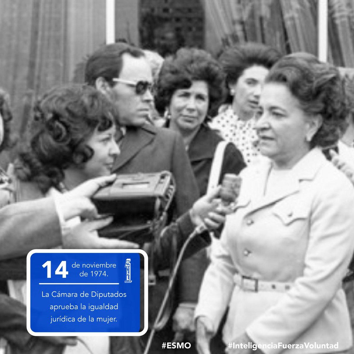 🗓 14 de noviembre de 1974 🇲🇽 La Cámara de Diputados aprueba la igualdad jurídica de la mujer.  #ESMO #InteligenciaFuerzaVoluntad #Atlixco #Puebla  #NuevaEscuelaMexicana #EducaciónBásica #AccionesPorLaEducación