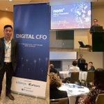 Image for the Tweet beginning: NEM Foundation CFO, Lei Dong