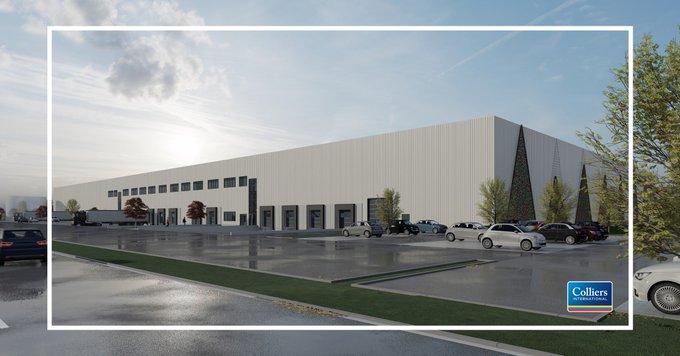 Baubeginn für den Logistik-Neubau mit ca. 15.700 m² in der Mitte Deutschlands an der A7!  <br></noscript>Weitere Infos zu unserem Alleinvermietungsauftrag erhalten Sie von unserem Frankfurter I&L-Team: +49 69 719192-5083<br>Den Baufortschritt können Sie live verfolgen:  t.co/rcXFkzBnWF